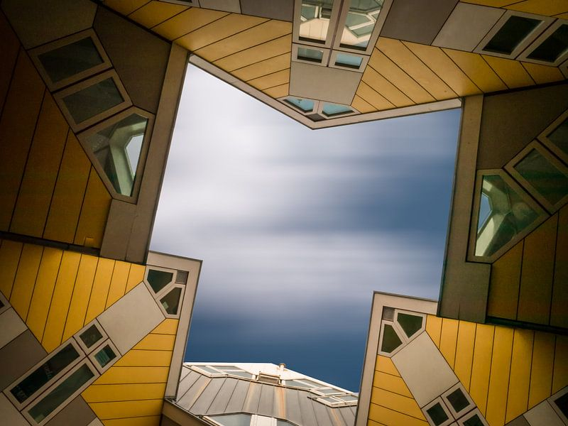 kubuswoningen in Rotterdam van Joey Hohage