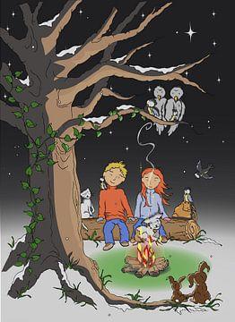 Verliefd in het bos van