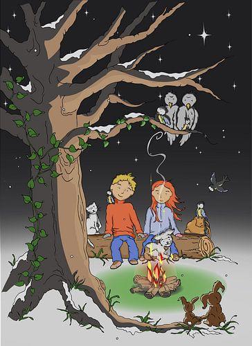 Verliefd in het bos