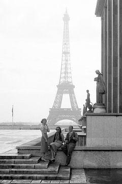 Paris Je T'Aime jaren '50 van Timeview Vintage Images