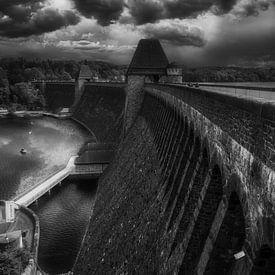 Mohne Dam /Möhnetalsperre - Sperrmauer van Mart Houtman