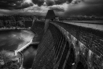 Mohne Dam /Möhnetalsperre - Sperrmauer