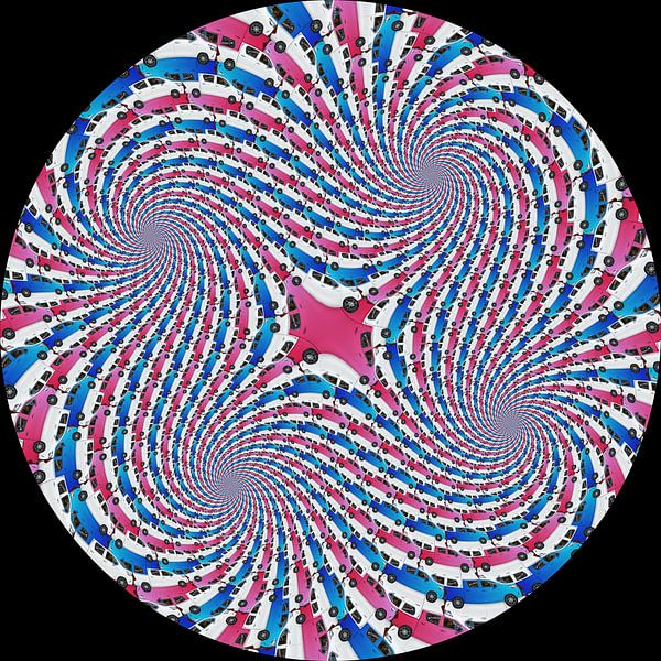 Car Spiral Quartet van Tis Veugen