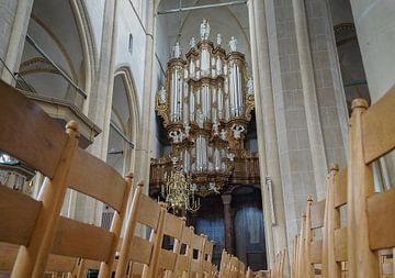 Hinsz-orgel - Bovenkerk, Kampen van M Van Rossum