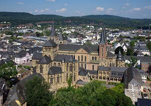 De kathedraal van Trier en de Liebfrauenkirche.