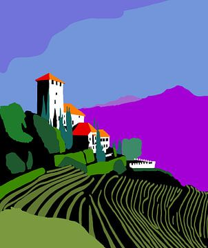 Chateau avec vignoble in Tirol sur