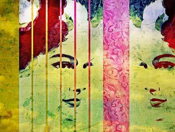 Dromen van vrijheid van Wil van der Velde/ Digital Art