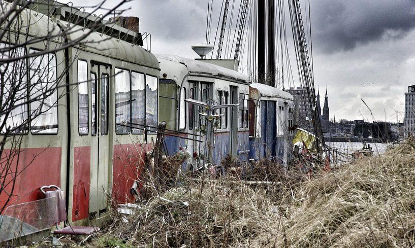 Lonely Trams von Edwin Stuiver