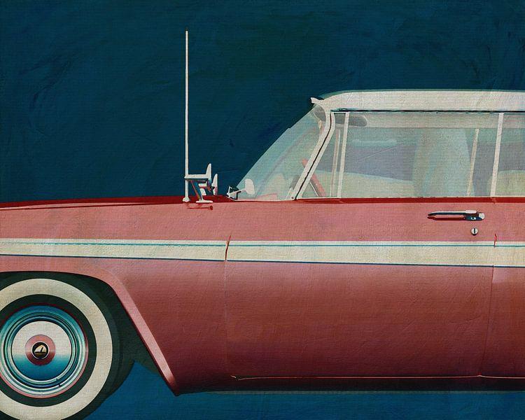 Plymouth Belvedere Sport Sedan 1957 van Jan Keteleer