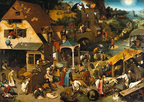 Nederlandse Spreekwoorden van Pieter Bruegel van