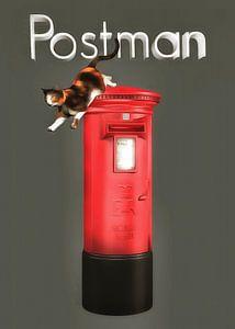 Katten: postbode