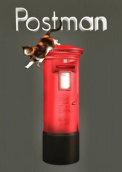 Katten: postbode van Jan Keteleer