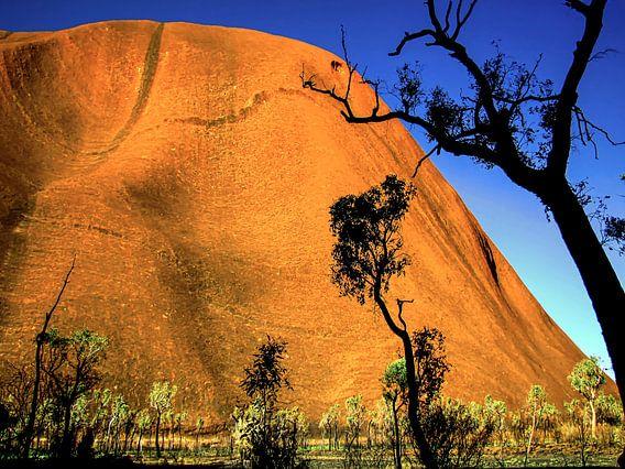 Uluru of Ayers rock, Australië