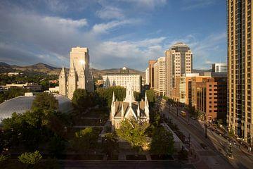 Temple Square Salt Lake City van Antwan Janssen
