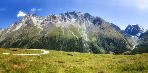 Hoog in de Zwitserse bergen, Arolla
