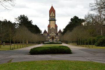 Crematorium Southern Graveyard - Leipzig van Marcel Ethner