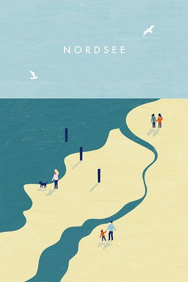 Nordsee  van Katinka Reinke
