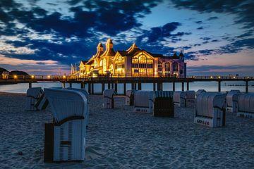 De Pier van Sellin, Rugen na zonsondergang van Evert Jan Luchies