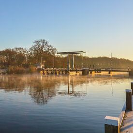 Sunrise near a draw-bridge near Doetinchem sur Patrick Verhoef