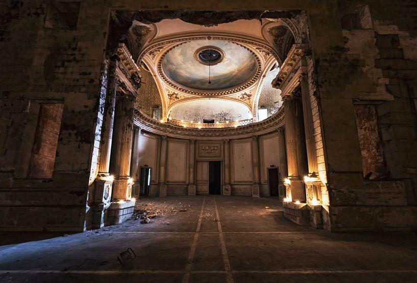 the temple of light  van Dieter Herreman