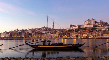 Panorama van Porto, Portugal van Alexander Bogorodskiy