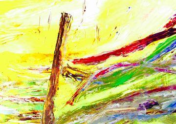herfstwind in zomerlicht von Ellen Tijmes