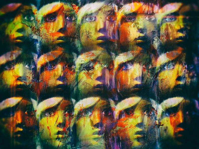 Fifteen faces van Gabi Hampe