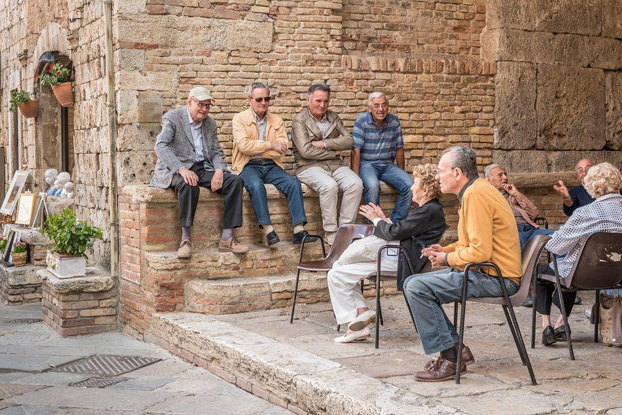 Meeting in Toscane van Trudy van der Werf