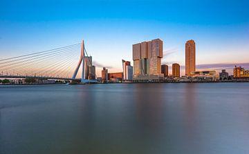 Skyline kop van zuid (Rotterdam) van Eelke Brandsma