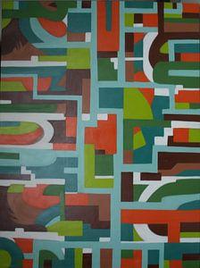 Vlakjes von Jeroen van Dongen