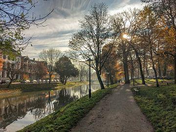 Park  aan de Maliesingel van Verliefd op Utrecht