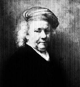 Zelfportret Rembrandt van Rijn van