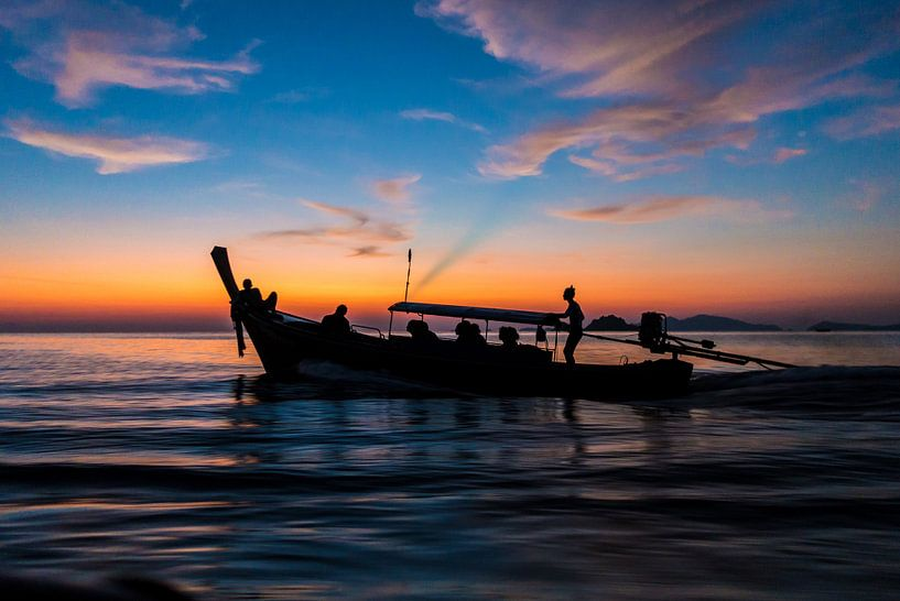 Thailand - Fischerboot van Felix Brönnimann