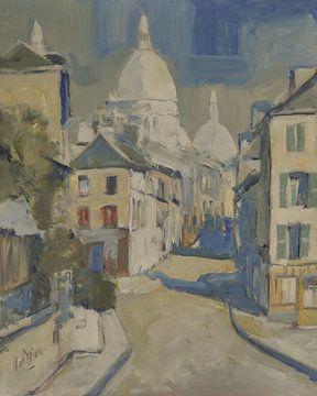 Zonnig Montmartre van Nop Briex