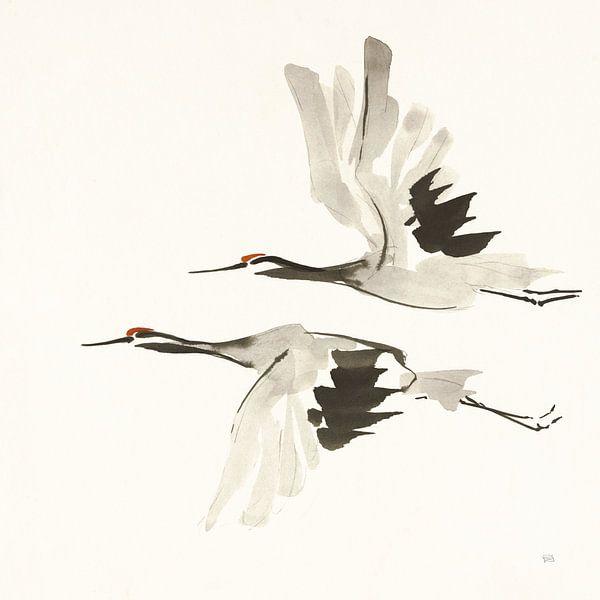 Zen Cranes I Warm, Chris Paschke von Wild Apple