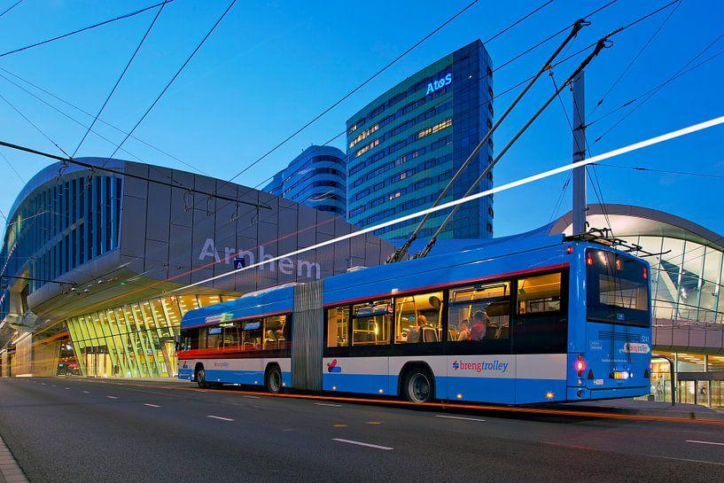 Trolleybus Arnhem van Anton de Zeeuw