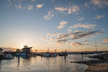 Hafen von Glowe van Vanessa Mahn