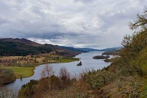Schotland, Queens View bij Loch Tummel