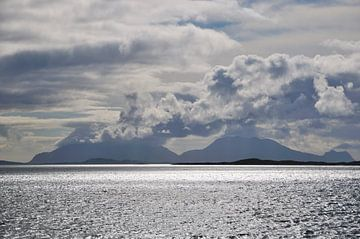 Blick über das Mehr in Norwegen von Marc Smits