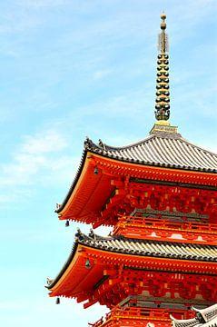 Senso-Ji Tempel, Kyoto, Japan van Bao Vo