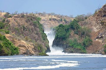 Murchison Falls, Oeganda van Robert van Hall