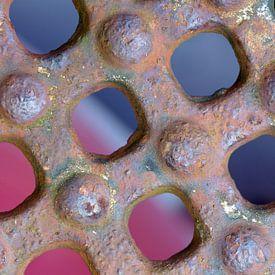 Roestig object (2) van Mark Scheper