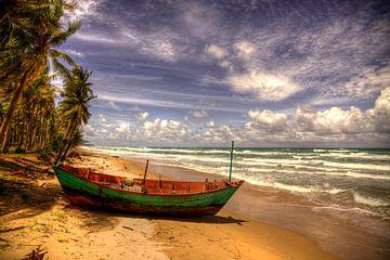 Phu Quoc vissersboot solo van Ron Meiresonne