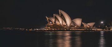 Skyline Opéra de Sydney sur Eveline Dekkers