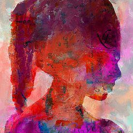 The young woman von Gabi Hampe