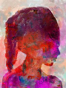 La jeune femme sur Gabi Hampe