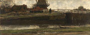 De afgesneden molen, Jacob Maris