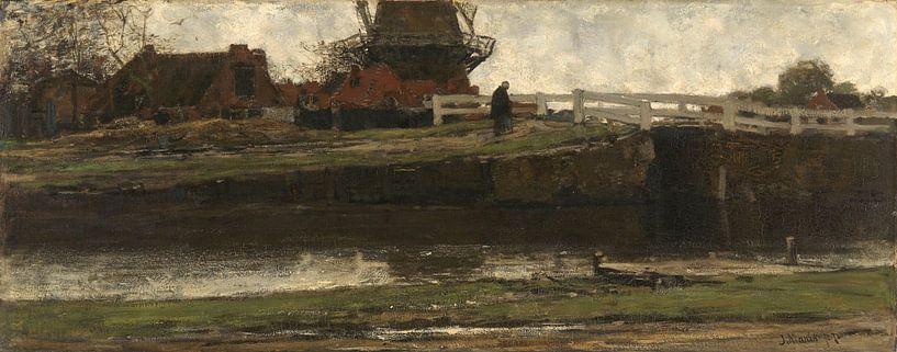 The Truncated Windmill, Jacob Maris von Meesterlijcke Meesters