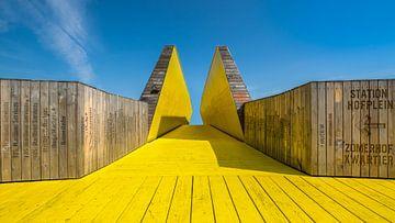 Voetgangersbrug van Rinus Lasschuyt Fotografie