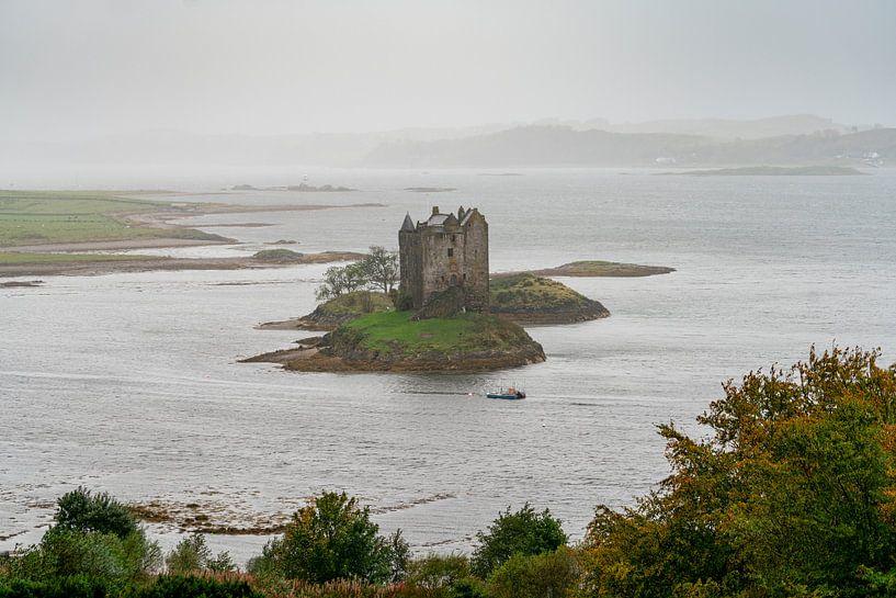 Castle Stalker Schotland van Ab Wubben